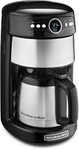 kitchenaid thermal carafe coffee maker onyx black kcm1203ob frank s appliance center sleepsource
