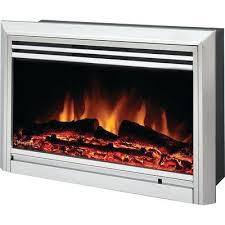 brilliant home depot electric fireplace logs insert canada