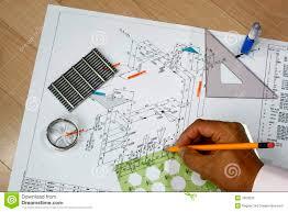 Designer Draftsman Draftsman At Work Stock Image Image Of Draftsman Engineer