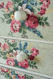 floral decoupage furniture. DIY: Decoupage ~ Fabric To Dresser Try Using Mod Podge Fabric. This Is Beautiful Floral Furniture U