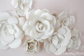 diy large paper flower wall do it your self