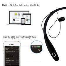 Tai nghe bluetooth 4.0 thể thao nghe nhạc pin 15h SCR 900SC - Hàng nhập  khẩu