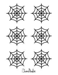 Spider Pattern Printable Get This Free Spider Web Network Template With Different