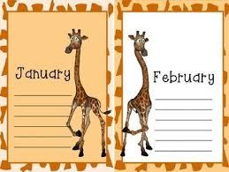 Giraffe Chart Giraffe Birthday Chart