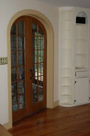 Traditional Arched French Doors Bring Classic Look for Your House