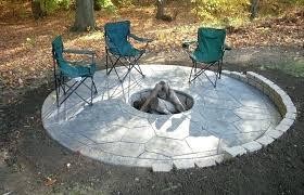 enchanting concrete patio ideas with fire pit concrete patio designs fire on concrete explode concrete patio