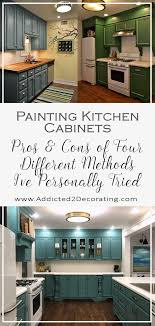 Painting Kitchen (And Bathroom) Cabinets \u2013 Pros \u0026 Cons Of Four ...