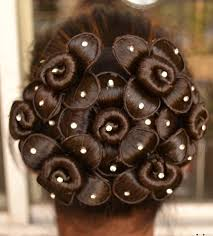 Indian Hair Style indian bridal hairstyle desibucket 3837 by wearticles.com