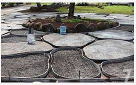 diy pavers. Perfect Diy DIY Concrete Pavers Looking Like Flagstone Love This For Our Backside  Yard Where I Want To Do A Hard Scape Inside Diy Pavers