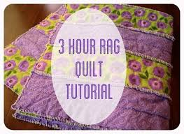 3 Hour Rag Quilt Tutorial & Rag Quilt Tutorial Adamdwight.com