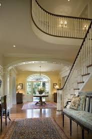 foyer entrance entry traditional with traditional rug hung front doors