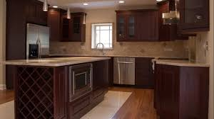 Small Picture Cozy Cherry Kitchen Cabinets Home Designs