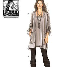 Lagenlook Sewing Patterns Enchanting Lagenlook Tunic Top Pattern Trendy Plus From YourSewingBasket On
