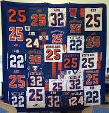 Quilts Made From Football Jerseys &  Adamdwight.com