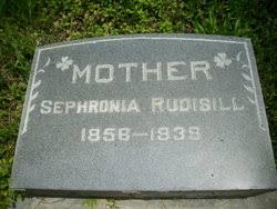 "Sophronia ""Sophia"" Parks Rudisill (1856-1939) - Find A Grave Memorial"