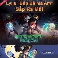 TRAILER SKIN MỚI LYLIA - BÚP BÊ MA ÁM... - Mobile Legends: Bang Bang
