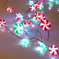 Candy Christmas Lights Red And Green Candy Lights Lauva 10 Ft 40 Leds Christmas Sweets String Lights Battery Operated With Remote Timer For Indoor Outdoor Diy Home Party