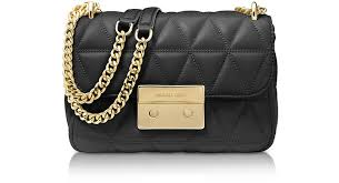 Michael Kors Sloan Small Black Quilted Leather Shoulder Bag at ... & Sloan Small Black Quilted Leather Shoulder Bag - Michael Kors Adamdwight.com