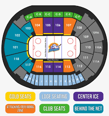 Amway Center Seating Chart Orlando Solar Bears Hockey