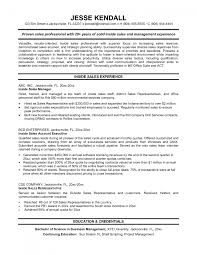 Cover Letter Sample Resume For Sales Sample Resume For Sales