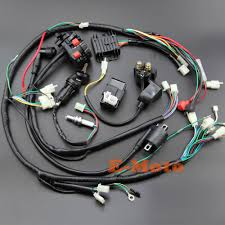online get cheap quad 300cc aliexpress com alibaba group full wiring harness loom ignition coil cdi ngk for 150cc 200cc 250cc 300cc zongshen lifan atv
