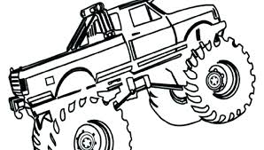Truck Coloring Sheets Free Monster Truck Coloring Pages Free Monster
