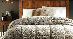 king size faux fur bedspread fur bed set large size of smart comforters ideas faux fur
