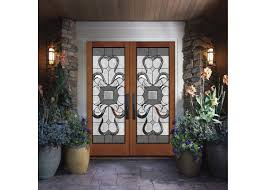 wood frame dedorative sliding glass door black patina internal glass sliding doors