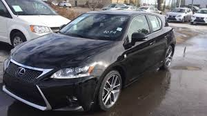 Lexus Ct Hybrid In Black F Sport Package Review Youtube