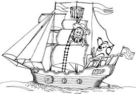 Small Picture Coloring Page Boat coloring pages 2