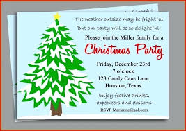 Staff Christmas Party Invitations Party Invitation Letter