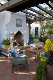 patio furniture covers home. interesting furniture spanish style white outdoor fireplace grace design  associates santa barbara ca in patio furniture covers home