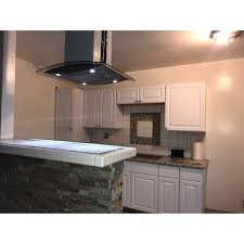 winflo range hood. Perfect Winflo Shop Winflo OWH102B30 30inch Stainless SteelTempered Glass Convertible  Island Range Hood  Free Shipping Today Overstockcom 13993080 In A