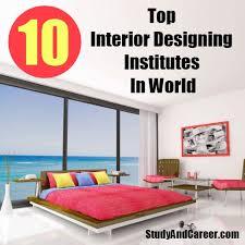 Good Interior Design Schools Mesmerizing Top 48 Interior Designing Institutes In World DIY Study And Career