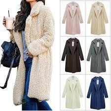 2019 Tom Hagen Fur Coat Women Winter 2019 Plus Size Long Teddy Jacket Warm Thick Fleece Faux Fur Coat Korean White Plush Teddy From Zhongguimin