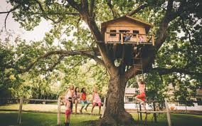 Kids treehouse inside Childrens Kid Crave Treehouses Arent Just For Children