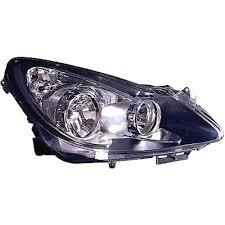 Right Headlamp Chrome Bezel For Opel Corsa D 2006 2011