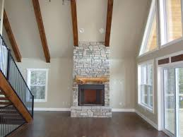 faux stone fireplace surround types in imposing
