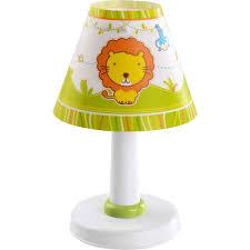 Dieren Tafellamp Kinderkamer Groen Multi Color Lampgigantnl