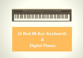 Digital Piano Comparison Chart 24 Best 88 Key Keyboard Reviews 2019 Best 88 Key Digital