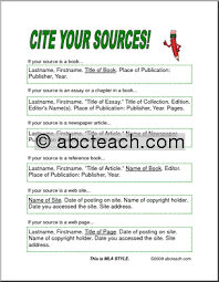 reference page essay
