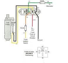 fuel pump relay page iboats boating forums  this is a good diagram of what your circuit is like make sure you are jumpering the correct connections
