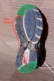 Running Shoe Wear Pattern Awesome What Your Running Shoe Wear Pattern Can Tell You And What It Can't
