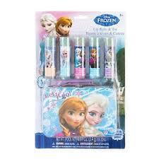 image is loading disney princess frozen flavored lip balm gift set