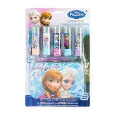 image is loading disney princess frozen flavored lip balm gift set