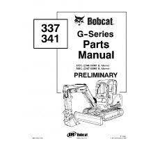 52 best bobcat manuals images on pinterest heavy equipment Bobcat 873 F Series Parts Diagram bobcat 337, 341 g series preliminary excavator parts manual pdf Aux Bobcat 873 Hydraulic Parts Diagrams
