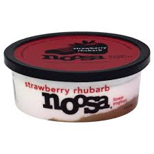 strawberry rhubarb yoghurt