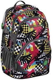 <b>CoocaZoo EvverClevver 2 Checkered Bolts</b> Blue - School Backpack ...
