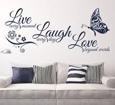 Love Wall Decor Bedroom Living Room Wall Decor Quotes Nomadiceuphoriacom