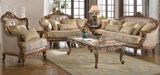 paris wood trim fabric sofa set